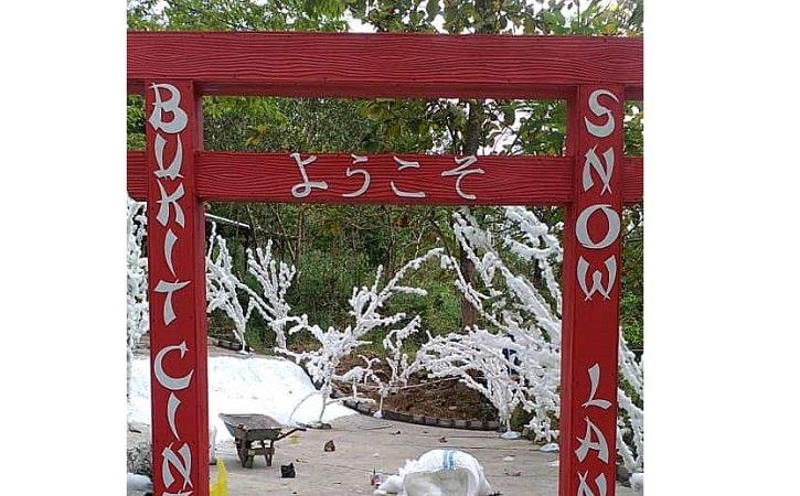 Asyik! Wisata Bukit Cinta Watu Prahu Klaten Tambah Wahana Bertema Salju