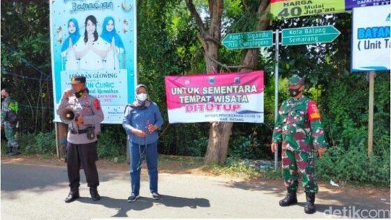 Objek Wisata di Batang Ditutup, Segini PAD Yang Diprediksi Hilang