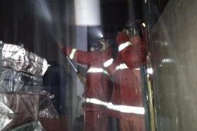 Ruko Dua Lantai Terbakar di Mergangsan, Diawali Ledakan