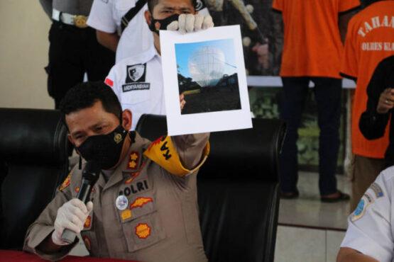 Fakta-Fakta Balon Udara Berisi Petasan Meledak di Klaten: Low Explosive Tapi Super Sensitif