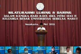 Gelar Silaturahmi, Rektor UNS Tekankan Esensi Idulfitri