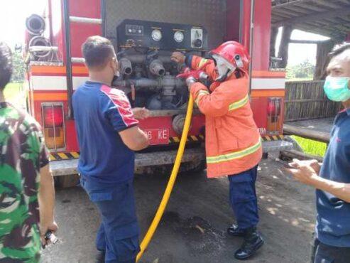 2 Kebakaran Dalam Sehari Di Sragen, 1 Orang Luka Bakar