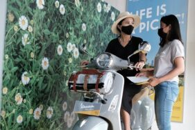 PT Piaggio Indonesia Bagikan Semangat Positif Vespa Picnic