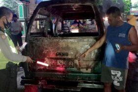 Mobil di Pasar Gabugan Sragen Terbakar, Kerugian Capai Rp14,5 Juta