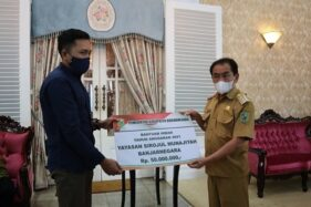 Bupati Serahkan Dana Hibah Rp5,3 Miliar untuk Ormas di Banjarnegara