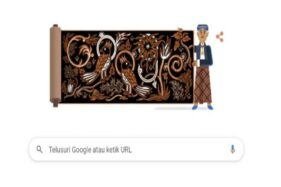 Wow, Pelopor Batik Asal Solo Go Tik Swan Hari Ini Nampang di Google