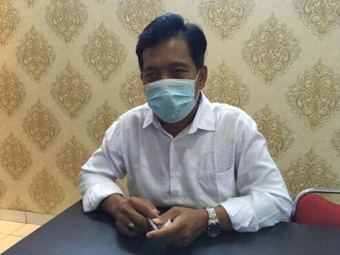Kasat Reskrim Polres Bantul AKP Ngadi saat ditemui di ruang kerjanya, Rabu (5/5/2021). (Harian Jogja/Jumali)