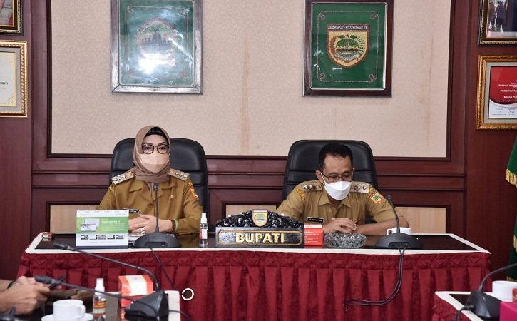 Kasus Covid-19 di Sukoharjo Belum Berhenti, Bupati Etik: Ayo Taat Prokes!