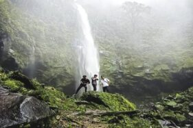 Kisah Peri Penunggu Hutan Jadi Asal Curug Cipendok Banyumas