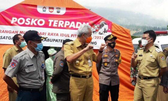 Ganjar Apresiasi Penutupan Objek Wisata di 4 Kabupaten