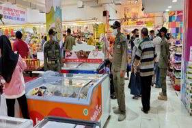 Jelang Lebaran, Operasi Prokes di Pusat Perbelanjaan di Wonogiri Digencarkan