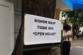 Pejabat dan Masyarakat Diminta Tak Adakan Open House