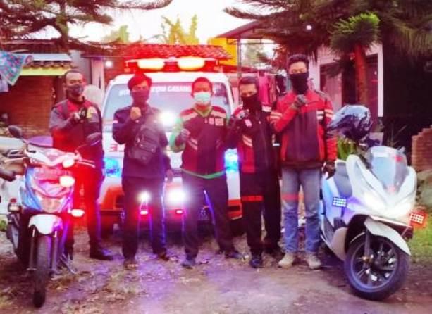 IEA Magelang Tak Asal Kencang Saat Kawal Ambulans