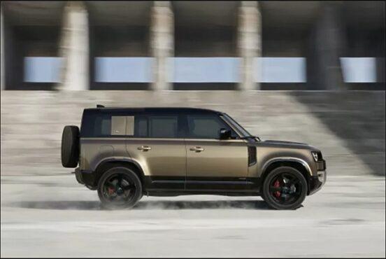 Land Rover Defender. (Jaguar Land Rover)