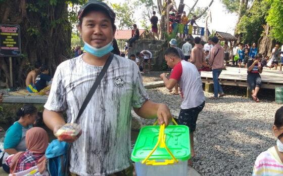 Pengunjung Umbul Manten Klaten Membeludak, Dagangan Lotis Pemuda Tulung Ludes dalam Tempo 15 Menit