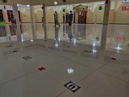 Masjid Agung At Taqwa Wonogiri Gelar Salat Idulfitri Skala Terbatas