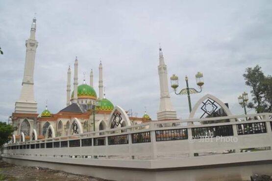 Ilustrasi Masjid Agung Baiturrahman Sukoharjo (Dok. Espos)