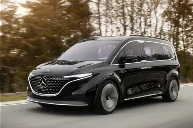 Mercedes Benz Siapkan Van Listrik EQT Concept