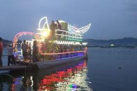Harga Tiket Tidak Naik Saat Lebaran, Jumlah Penumpang Perahu Tradisional Rawa Jombor Membludak