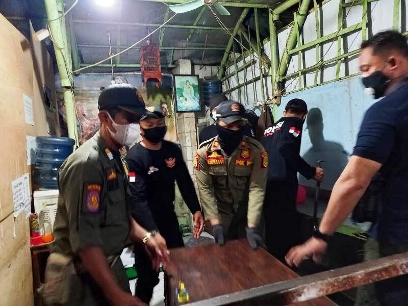 5 Tempat Judi Togel Dibongkar Satpol PP Kota Semarang