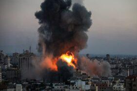 Lagi, Serangan Bom Israel Bantai Satu Keluarga Palestina