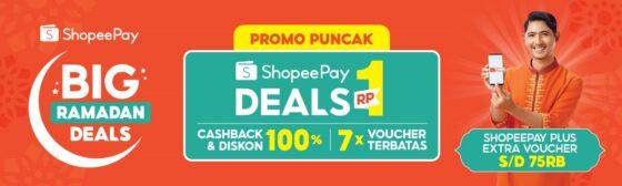 3 Promo Spesial di Puncak ShopeePay Big Ramadan Deals Besok! Bikin Heboh!