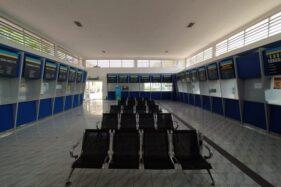 Hari Pertama Larangan Mudik, Terminal Wonogiri Sepi, Warung-Warung Tutup