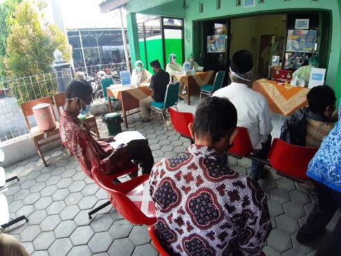 Capaian Vaksinasi Covid-19 Kota Magelang Terbanyak ke-3 Jateng