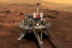 China Sukses Daratkan Wahana Penjelajah di Planet Mars