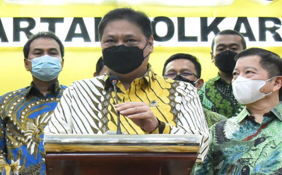 Keputusan Partai Golkar mengusung Airlangga Hartarto sebagai calon presiden (Capres) sudah bulat. (Istimewa)