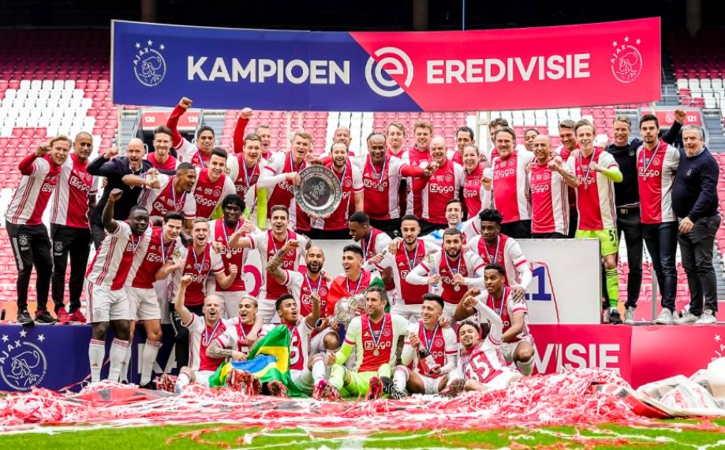 Ajax Kian Perkasa Kantongi 35 Trofi, Ini Daftar Juara Liga Belanda