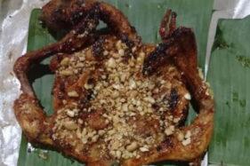 Ayam bakar topping mete khas Jatisrono, Wonogiri. (Istimewa)