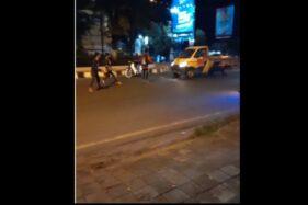 Heboh Video 3 Remaja Berlarian Adang Mobil di Jalan Raya Solo Baru Sukoharjo, Ini Kata Polisi