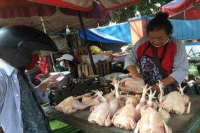 Masih Tinggi, Harga Daging Ayam di Solo Capai Rp45.000/Kg