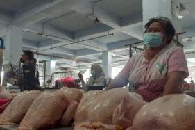 Jelang Lebaran, Harga Daging Ayam di Madiun Naik Jadi Rp36.000/Kg