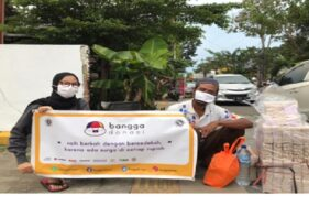 Bantu PKL di Masa Pandemi, Mahasiswa Undip Semarang Adakan Proyek Bangga Donasi