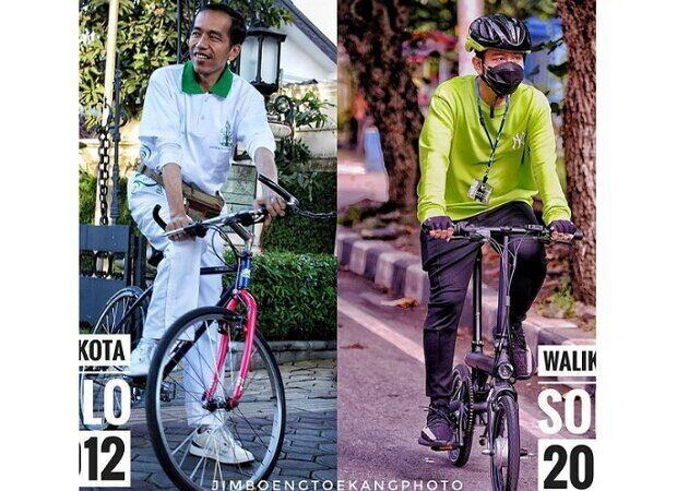 Adu Gaya Jokowi dan Gibran Saat Sama-sama Jadi Wali Kota Solo
