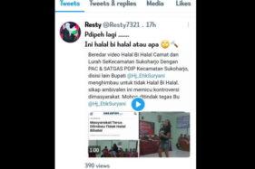 Buntut Kontroversi Halalbihalal PAC PDIP, Plt Camat Sukoharjo Dicopot