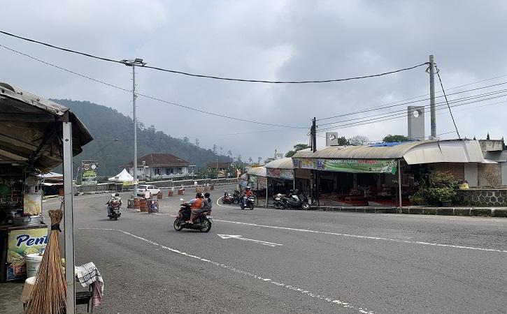 H-1 Lebaran, Arus Lalu Lintas di Karanganyar – Tawangmangu Sepi Pol