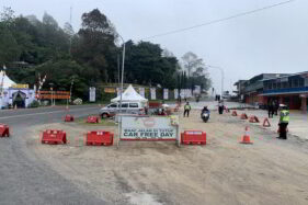 Setop! Wisatawan Luar Daerah Dilarang Masuk Karanganyar