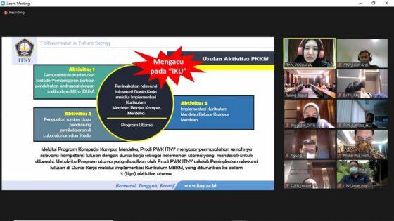 Dukung Merdeka Belajar, ITNY Jadi Narasumber di Kementerian ATR/BPN