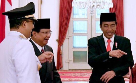Survei Litbang Kompas: Jokowi, Prabowo, dan Anies 3 Besar Favorit Capres