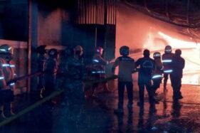 Gudang Tiner Sragen Terbakar Bikin 3 Orang Terluka, Begini Kejadiannya