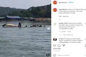 Perahu Wisata di Waduk Kedung Ombo Kemusu Boyolali Tenggelam Diduga Kelebihan Muatan