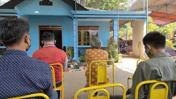 Rumah korban kecelakaan, FRA, 20, warga Dusun Jajar RT 002/RW 004, Desa Talesan, Kecamatan Purwantoro, Wonogiri, Selasa (18/5/2021). (Istimewa/Camat Purwantoro)