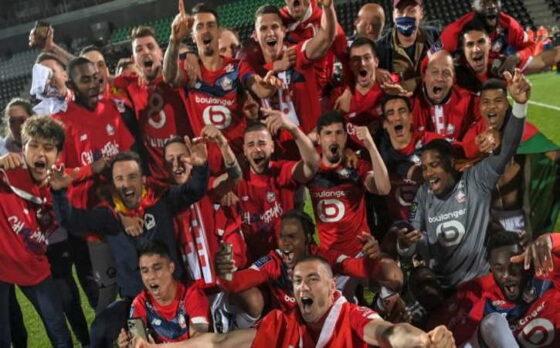 Lille Juarai Liga Prancis, PSG Harus Turun Takhta