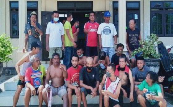 Kurang Perhatian, 30 Personel Linmas di Wonosari Klaten Mundur & Copot Seragam