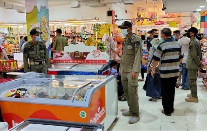 Jelang Lebaran, Pusat Perbelanjaan di Wonogiri Diawasi Lebih Ketat