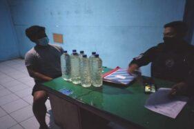 Pemuda Laweyan Terciduk Bawa Ciu Saat Lewat di Pospam Banyuanyar Solo
