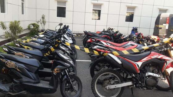 Alhamdulillah, Polda DIY Kembalikan 19 Motor Curian Kelompok Lampung